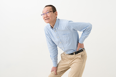 腰・背中の痛みの諸症状