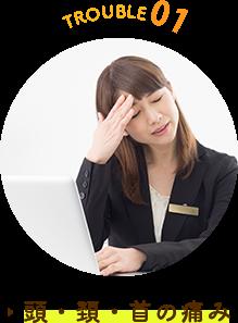 頭痛、頚・首の痛み