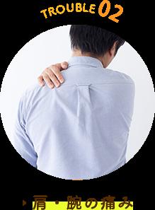 肩こり、腕の痛み