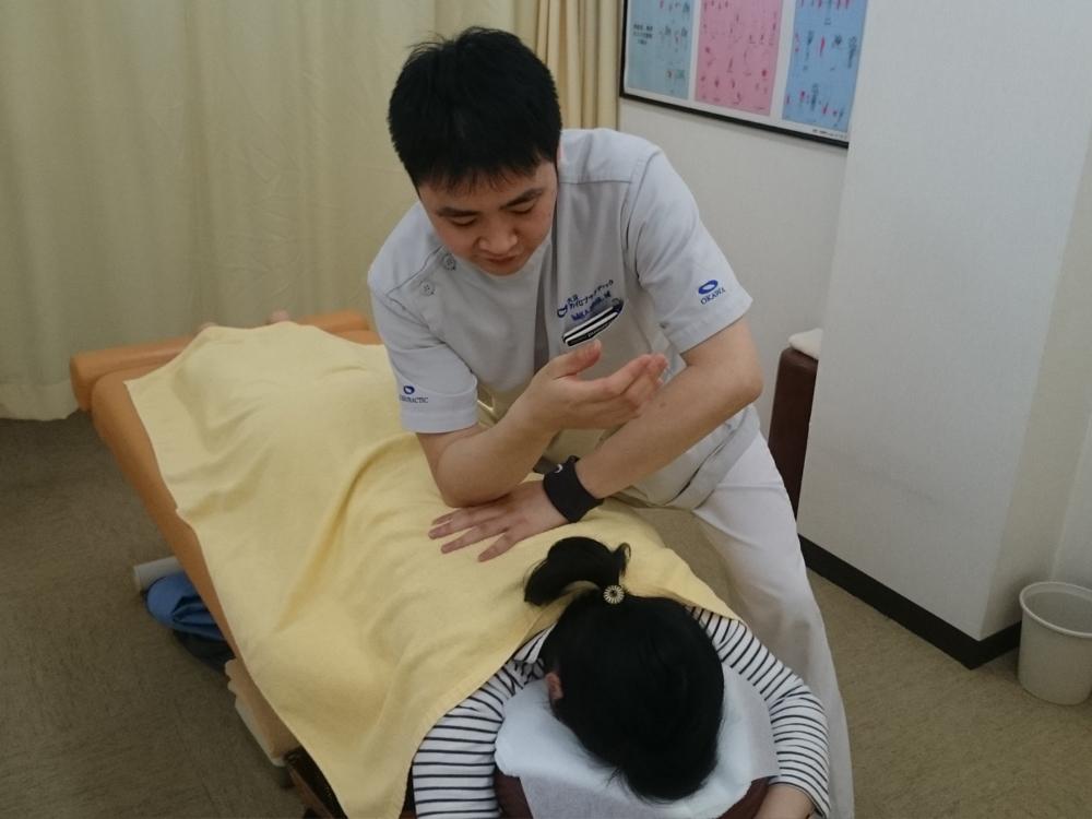 施術Ⅰ、筋肉の調整(トリガーポイントセラピー)